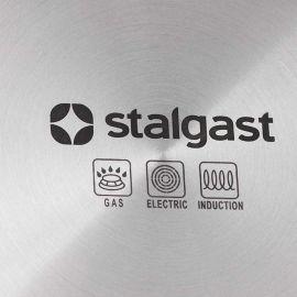 Rondel do sosów trzywarstwowy teflonowany d 220 mm | Stalgast 021722